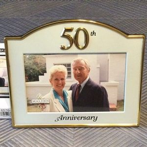 50 anniversary picture frame